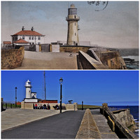 hartlepool headland 1904 and 2014