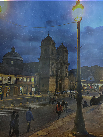 a night in cusco