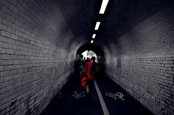 tunnel...